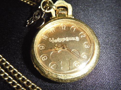 チェブラーシカ 真鍮手作り 懐中時計