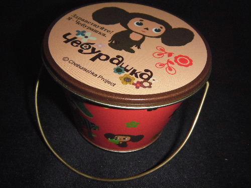 チェブラーシカ キャンディーミニバケツ缶