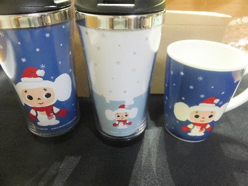 チェブラーシカ・ツインクルウインター・タンブラー&マグカップ